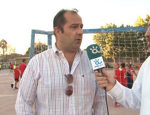 Rafa Palomo, seleccionador infantil masculino de Andalucía