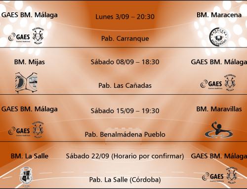 Por fin empieza a sonar el silbato para el GAES BM. Málaga